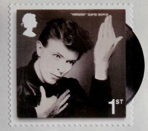 David Bowie, individuelle Royal Mail First Class Briefmarke-postfrisch