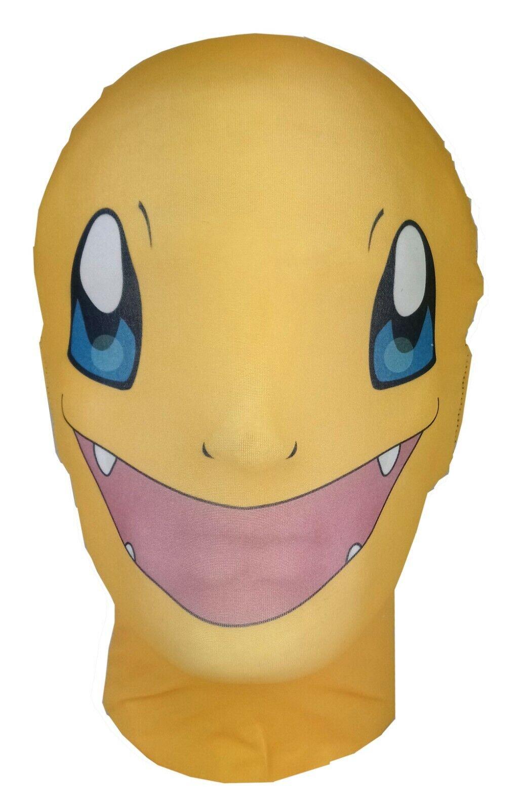 Charmander Full Head Mask, Pokemon GO Costume, Cosplay, Halloween Fancy Dress