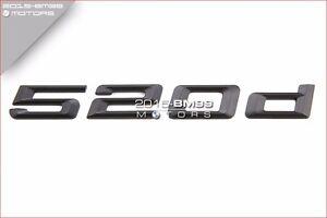 BMW E60 F10 5-Series Rear Trunk Lid Real Carbon Fiber Emblem Badge Letters 535i