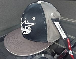 ALPINESTARS-BASEBALL-CAP-FLAT-PEAK-HAT-MOTORCYCLE