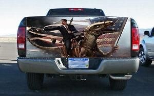 Reagan Velociraptor Truck Tailgate Wrap Vinyl Graphic
