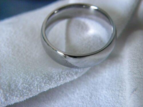 Titanium Ring Wedding Band Polished Finish 6mm Made your Size