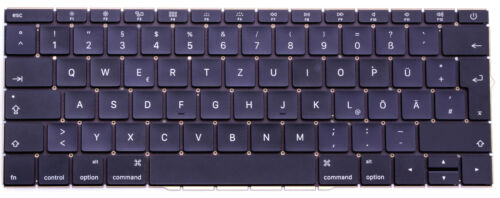 Macbook Pro Retina A1708 13,3 Tastatur 2016 2017 Keyboard Deutsch mit Backlight