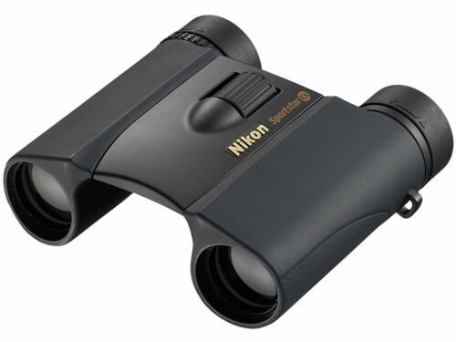 Nikon Sport Star ex prismáticos 8x25 negro impermeable juntos plegable