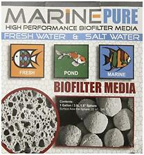 CerMedia MarinePure 1.5-Inch Sphere Bio-Filter Media for Marine and Freshwater A