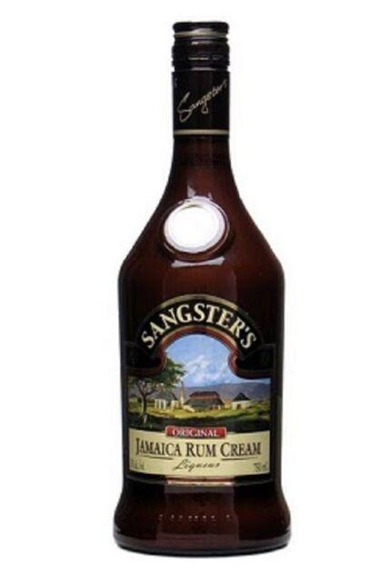 sangster's coffee rum cream 750ml  ebay
