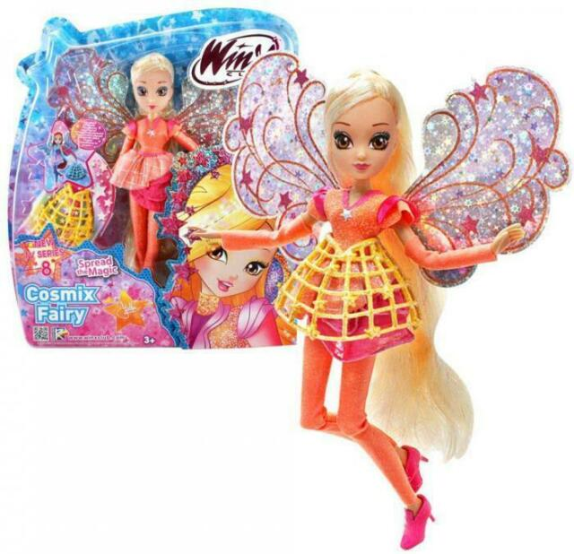Winx Club Cosmix Fairy Flora Figure Tv Serie 8 Doll 27 Cm For Sale Online Ebay