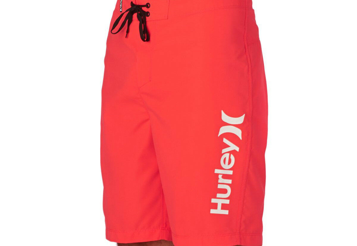 Hurley One and Only 2.0 Boardshort (32) Bright Crimson