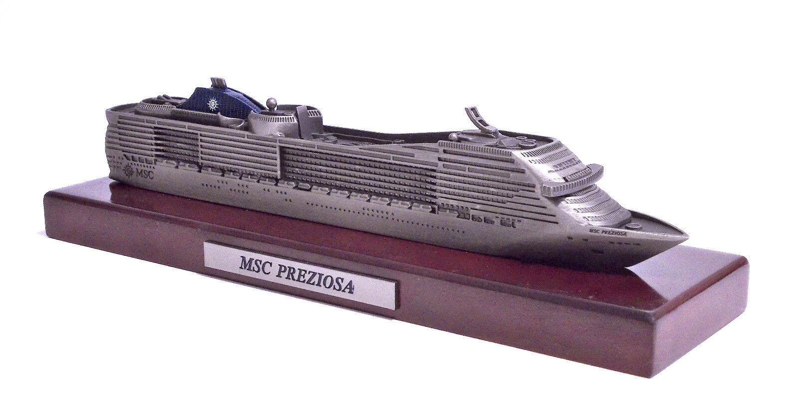 modelloLINO modello SHIP NAVE DA CROCIERA MSC PREZIOSA  MSC CROCIERE 2011