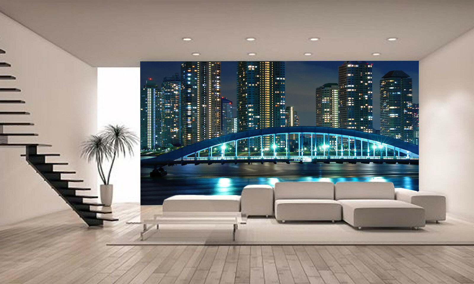Night Tokyo Wall Mural Photo Wallpaper GIANT WALL DECOR PAPER POSTER