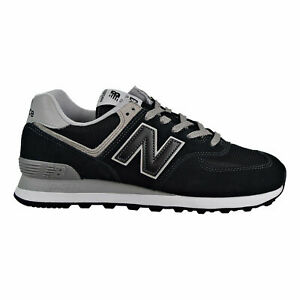 New-Balance-574-Classic-Men-039-s-Shoes-Black-Grey-ML574-EGK-SIZE-9