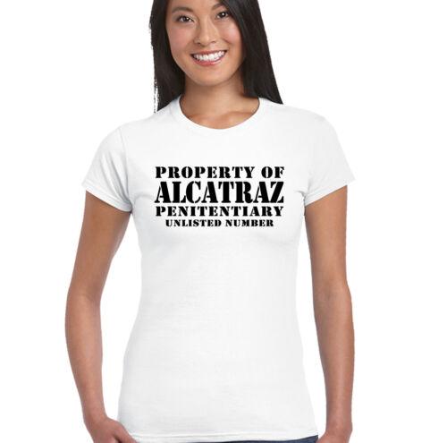 As Worn By Blondie Property of Alcatraz Womens T-Shirt Deborah Debbie Harry