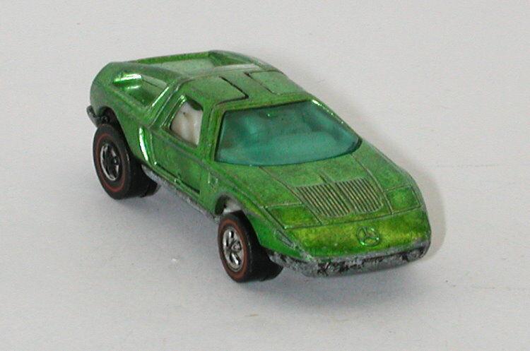 Ahorre 60% de descuento y envío rápido a todo el mundo. rojoline Hotwheels Hotwheels Hotwheels Light verde 1972 Mercedes Benz C-111 oc11543  saludable