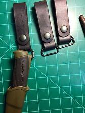 Custom Handmade Leather Dangler For Mora Plastic Sheath
