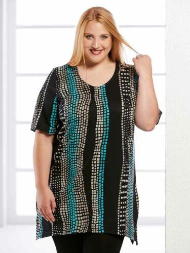 Repubblicano Piu Femmes Chemise Longue Manches Courtes Shirt nouveau dans de grandes tailles