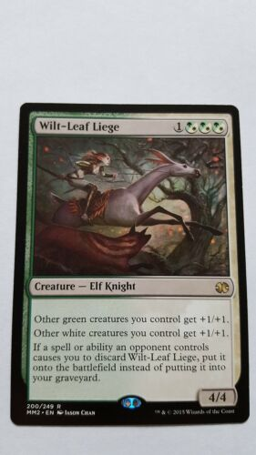 1x WILTLEAF LIEGE Rare Modern Masters MTG NM Magic the Gathering