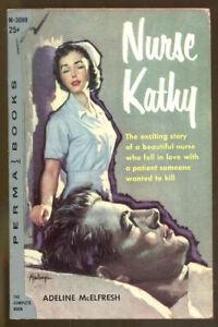 Nurse-Kathy-by-Adeline-McElfresh-Vintage-Permabooks-PB-1957-Clark-Hulings-Cover