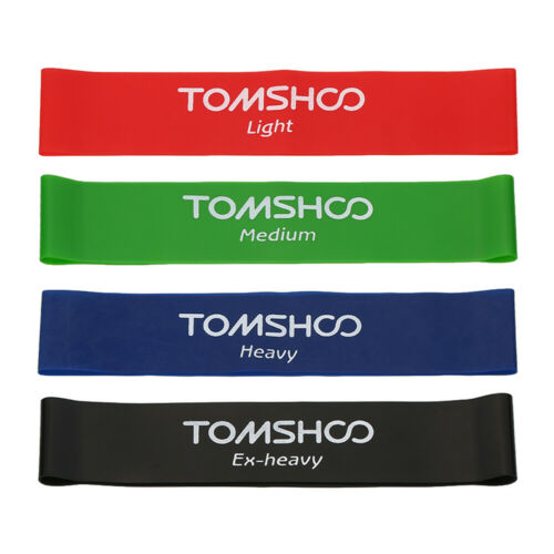 TOMSHOO Exercise Resistance Loop Bands Latex Gym Strength Training Loops S1E1