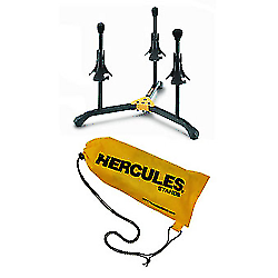 Hercules Stands Ds513bb Trumpet Cornet and Flugelhorn Stand with Carrying Bag