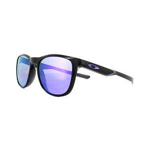 66610a8723 Oakley Sunglasses Trillbe X OO9340-03 Black Ink Violet Iridium ...