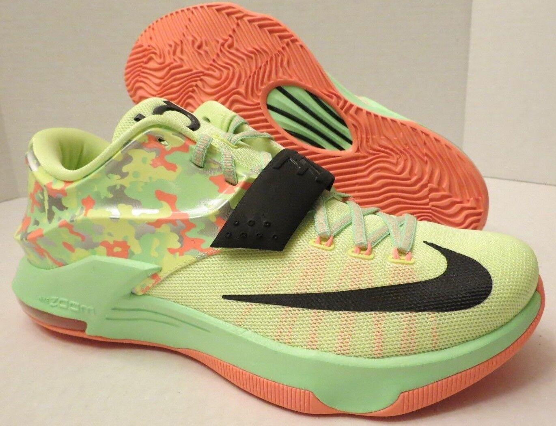 ace633eb746 Nike KD 7 VII Easter Sz 11 Liquid Lime vapor Green Black Kevin ...