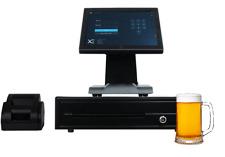 Full Touchscreen Pos Cash Register Till System For Nightclub Bar Pub Cafe
