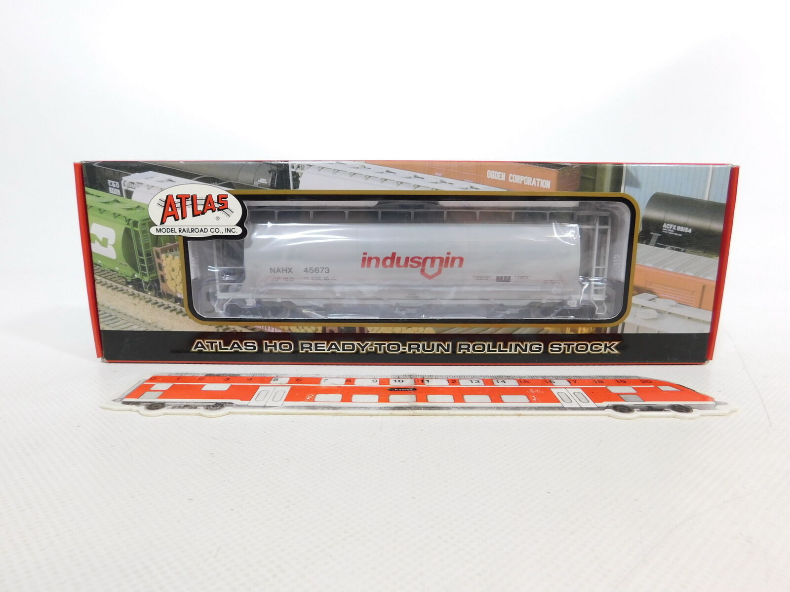 Ce623 - 0,5, 35repas 35repas 35repas Atlas H0   DC 1981 - 1 Indian nahx furgoneta, caja de menta (sin abrir) 6af