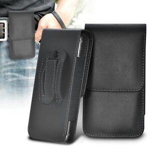 Vertikal-Guertelclip-Qualitaet-Tasche-Holster-Beste-Klapp-Handy-Etui-Halter