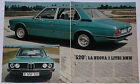 Article Articolo 1973 BMW 520 SERIE 5 E12