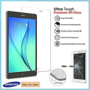 Veritable-verre-LCD-trempe-protecteur-d-039-ecran-pour-Galaxy-Tab-10-1-034-SM-T580-2016