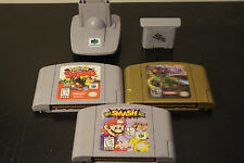 N64 Nintendo 64 Lot Super Smash Bros / Zelda Majora's Mask / Pokemon Snap + More