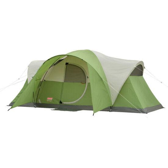 Coleman 8-personne modifié Dôme Tente Camping Abri Randonnée Plage Outdoor Sommeil