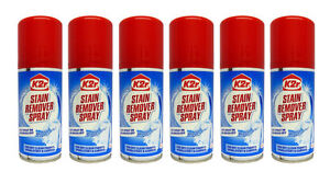 Pack Of 6 X K2r Dry Clean Spot And Stain Remover Sprays