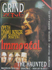 GRIND ZONE 6 1998 Immortal Opeth Haunted Dimmu Borgir Thy Serpent Thanatos