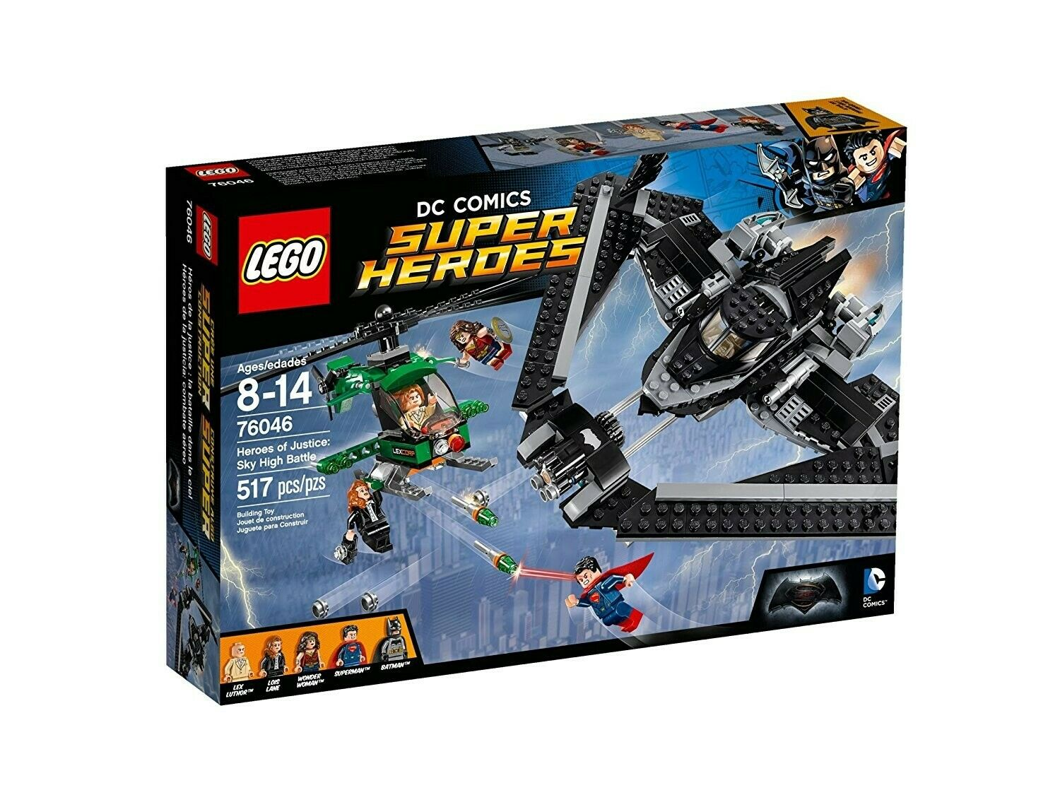 LEGO 76046  Super Heroes DC Comics Batman Superman Wonder Woman Lois Lane