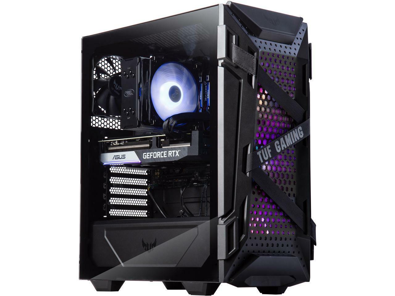 ABS Gladiator Gaming PC - Intel i7 10700F - ASUS Dual GeForce RTX 3070 8GB - G.S