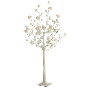 Stunning rose tree floor lamp cream 72 led lights 120cm livingroom image is loading stunning rose tree floor lamp cream 72 led aloadofball Images