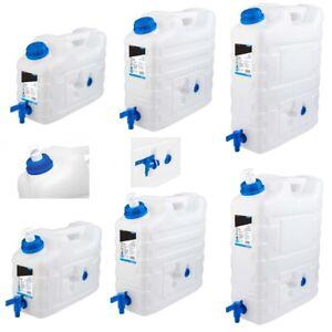Wasserkanister-10-bis-20-Liter-mit-Hahn-Seifenbehaelter-Camping-Kanister-TOP