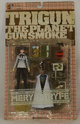 MERYL STRYFE Action Figure by Kaiyodo TRIGUN The Planet Gunsmoke Old Store Stock