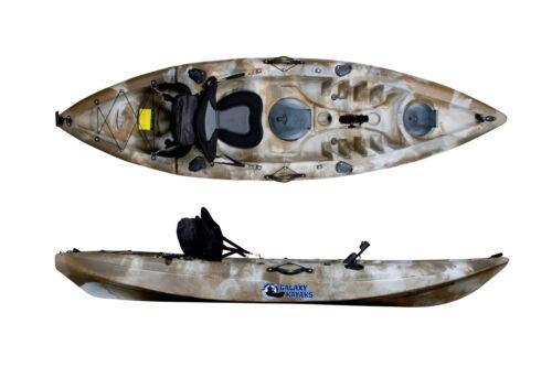 SIT ON TOP KAYAK CANOE LEISURE KAYAK FISHING KAYAK GALAXY SINGLE CRUZ