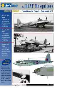 More-RCAF-Mosquitoes-404-Sqn-Stencils-1-32-scale-Aviaeology-Decals-039-n-Docs