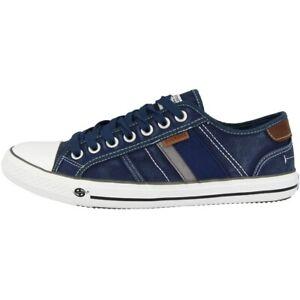 Dockers By Gerli 42jz002 Chaussures Hommes Sneaker Chaussure Lacée Blue 42jz002-790600-afficher Le Titre D'origine