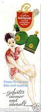 Parfum Lohse Uralt Lavendel Reklame von 1941 Badeanzug Sommer Beine Knie Werbung