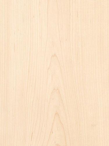 """Maple White Wood Veneer Plain Sliced Paper Backer Backing 2/' X 8/' 24/"""" x 96/"""""""