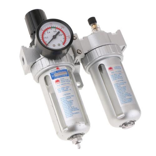 SFC200 Air Tool Line Regulator Lubricator Water Trap Filter Gauge Regulator