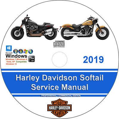 Harley Davidson Softail 2019 Factory Workshop Service Repair