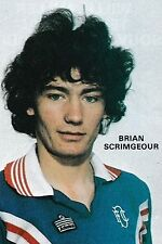 Football Photo BRIAN SCRIMGEOUR Dundee 1979-80