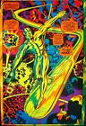 SILVER SURFER I'M FREE MARVEL THIRD EYE Black light poster TE4005 JACK KIRBY