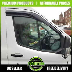 FITS-FORD-TRANSIT-MK8-20013-2020-WIND-RAIN-SMOKE-DEFLECTORS-VISORS-EXTERNAL-FIT