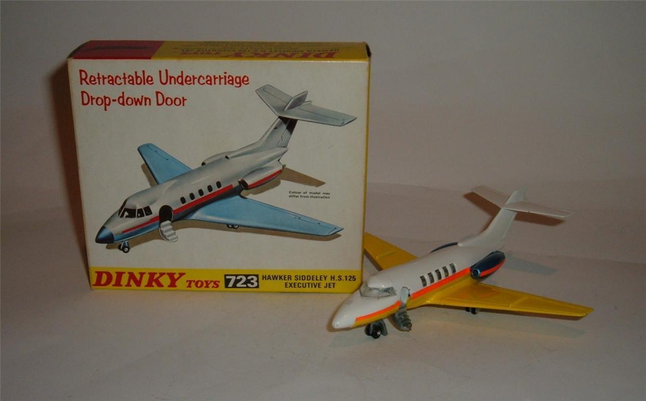 compra limitada Dinky Juguetes Nº 723, Hawker Siddeley HS 125 Jet Jet Jet Ejecutivo, - Excelente.  Entrega directa y rápida de fábrica